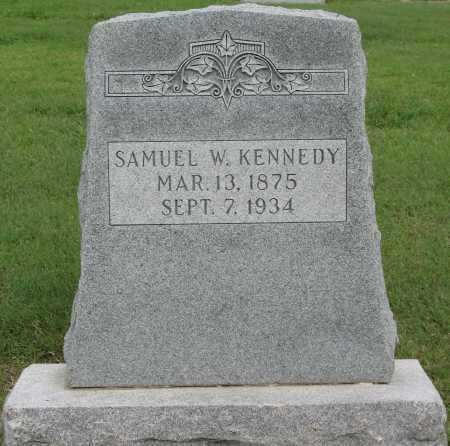 KENNEDY, SAMUEL W - Tulsa County, Oklahoma   SAMUEL W KENNEDY - Oklahoma Gravestone Photos