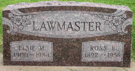 LAWMASTER, ROSS E - Tulsa County, Oklahoma | ROSS E LAWMASTER - Oklahoma Gravestone Photos