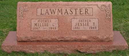 LAWMASTER, JESSIE T - Tulsa County, Oklahoma | JESSIE T LAWMASTER - Oklahoma Gravestone Photos