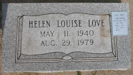 LOVE, HELEN LOUISE - Tulsa County, Oklahoma | HELEN LOUISE LOVE - Oklahoma Gravestone Photos