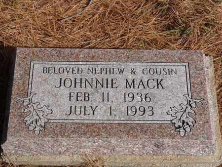 MACK, JOHNNIE - Tulsa County, Oklahoma | JOHNNIE MACK - Oklahoma Gravestone Photos