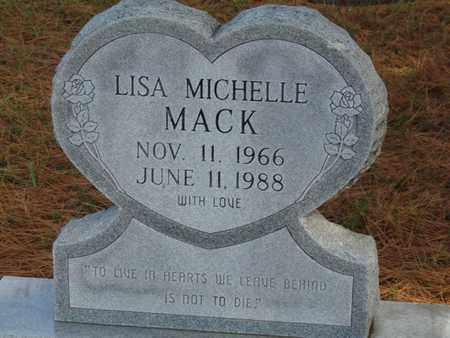 MACK, LISA MICHELLE - Tulsa County, Oklahoma | LISA MICHELLE MACK - Oklahoma Gravestone Photos