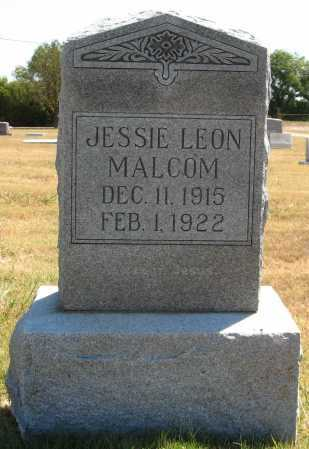 MALCOM, JESSIE LEON - Tulsa County, Oklahoma | JESSIE LEON MALCOM - Oklahoma Gravestone Photos