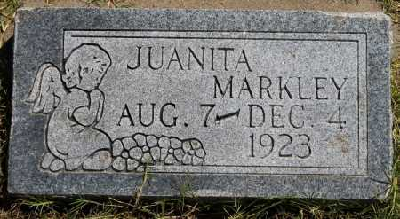 MARKLEY, JUANITA - Tulsa County, Oklahoma | JUANITA MARKLEY - Oklahoma Gravestone Photos