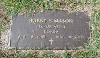 MASON (VETERAN KOR), BOBBY E - Tulsa County, Oklahoma | BOBBY E MASON (VETERAN KOR) - Oklahoma Gravestone Photos