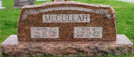 MCCULLAH, TOM M - Tulsa County, Oklahoma | TOM M MCCULLAH - Oklahoma Gravestone Photos