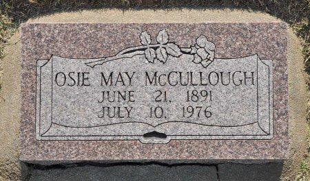MCCULLOUGH, OSIE MAY - Tulsa County, Oklahoma | OSIE MAY MCCULLOUGH - Oklahoma Gravestone Photos