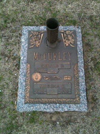 "MCCURLEY, GERALD DEON ""JERRY"" - Tulsa County, Oklahoma | GERALD DEON ""JERRY"" MCCURLEY - Oklahoma Gravestone Photos"