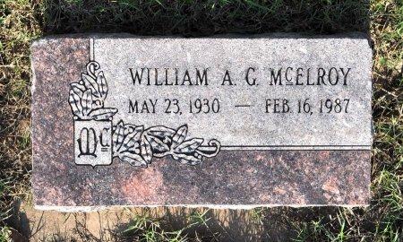 "MCELROY, WILLIAM AMOS GREEN ""BILL"" - Tulsa County, Oklahoma   WILLIAM AMOS GREEN ""BILL"" MCELROY - Oklahoma Gravestone Photos"
