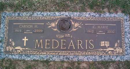 MEDEARIS, C. MARIE - Tulsa County, Oklahoma | C. MARIE MEDEARIS - Oklahoma Gravestone Photos