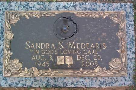 MEDEARIS, SANDRA SUE - Tulsa County, Oklahoma | SANDRA SUE MEDEARIS - Oklahoma Gravestone Photos