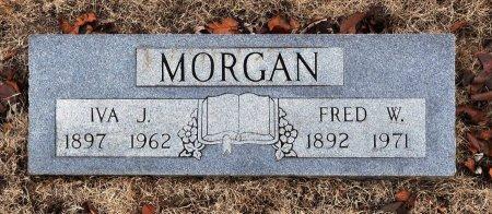 MORGAN, FRED W. - Tulsa County, Oklahoma | FRED W. MORGAN - Oklahoma Gravestone Photos