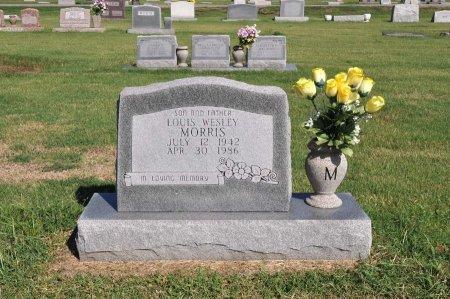 MORRIS, LOUIS WESLEY - Tulsa County, Oklahoma   LOUIS WESLEY MORRIS - Oklahoma Gravestone Photos
