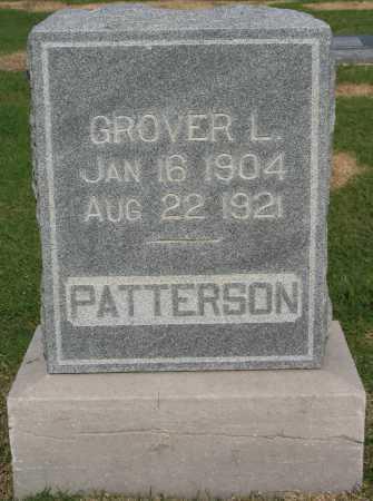 PATTERSON, GROVER L - Tulsa County, Oklahoma   GROVER L PATTERSON - Oklahoma Gravestone Photos