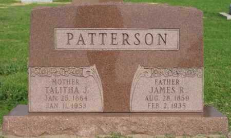 PATTERSON, JAMES R - Tulsa County, Oklahoma | JAMES R PATTERSON - Oklahoma Gravestone Photos