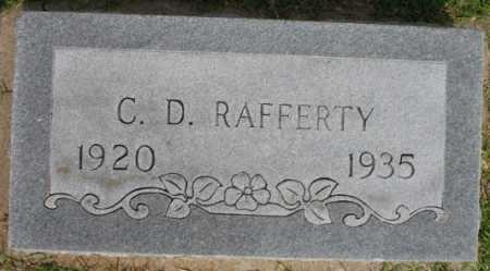 RAFFERTY, C.D. - Tulsa County, Oklahoma   C.D. RAFFERTY - Oklahoma Gravestone Photos