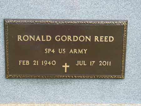 REED (VETERAN), RONALD GORDON - Tulsa County, Oklahoma | RONALD GORDON REED (VETERAN) - Oklahoma Gravestone Photos