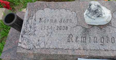 REMINGTON, NORMA JEAN - Tulsa County, Oklahoma | NORMA JEAN REMINGTON - Oklahoma Gravestone Photos