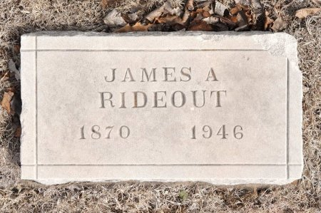 RIDEOUT, JAMES ALBERT - Tulsa County, Oklahoma | JAMES ALBERT RIDEOUT - Oklahoma Gravestone Photos