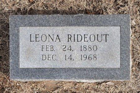 CROCKETT RIDEOUT, ALICE LEONA JOSEPHINE - Tulsa County, Oklahoma | ALICE LEONA JOSEPHINE CROCKETT RIDEOUT - Oklahoma Gravestone Photos