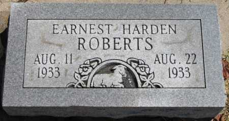 ROBERTS, EARNEST HARDEN - Tulsa County, Oklahoma | EARNEST HARDEN ROBERTS - Oklahoma Gravestone Photos