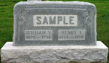 SAMPLE, WILLIAM V - Tulsa County, Oklahoma | WILLIAM V SAMPLE - Oklahoma Gravestone Photos