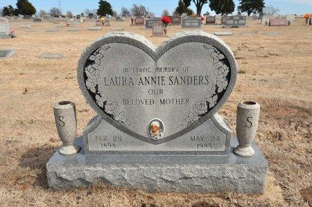 WILLSON SANDERS, LAURA ANNIE - Tulsa County, Oklahoma | LAURA ANNIE WILLSON SANDERS - Oklahoma Gravestone Photos