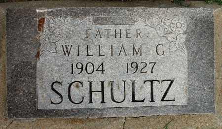 SCHULTZ, WILLIAM G - Tulsa County, Oklahoma | WILLIAM G SCHULTZ - Oklahoma Gravestone Photos