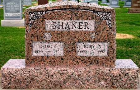 SHANER, RUBY A - Tulsa County, Oklahoma | RUBY A SHANER - Oklahoma Gravestone Photos