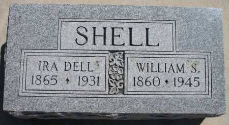 SHELL, WILLIAM S - Tulsa County, Oklahoma | WILLIAM S SHELL - Oklahoma Gravestone Photos