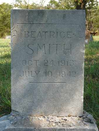 SMITH, BEATRICE - Tulsa County, Oklahoma | BEATRICE SMITH - Oklahoma Gravestone Photos