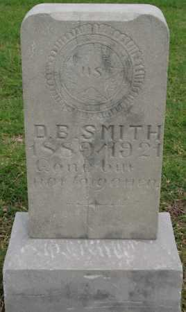 SMITH, D B - Tulsa County, Oklahoma | D B SMITH - Oklahoma Gravestone Photos