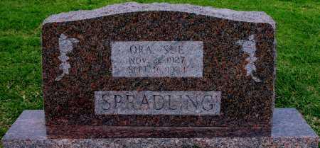 SPRADLING, ORA SUE - Tulsa County, Oklahoma | ORA SUE SPRADLING - Oklahoma Gravestone Photos