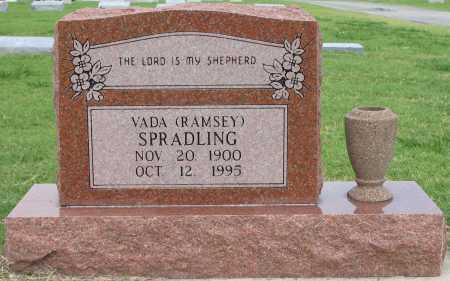 RAMSEY SPRADLING, VADA - Tulsa County, Oklahoma | VADA RAMSEY SPRADLING - Oklahoma Gravestone Photos