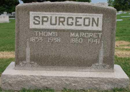 SPURGEON, THOM'S - Tulsa County, Oklahoma | THOM'S SPURGEON - Oklahoma Gravestone Photos