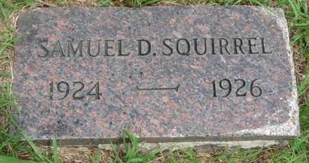 SQUIRREL, SAMUEL D - Tulsa County, Oklahoma   SAMUEL D SQUIRREL - Oklahoma Gravestone Photos