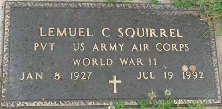 SQUIRREL (VETERAN WWII), LEMUEL C - Tulsa County, Oklahoma | LEMUEL C SQUIRREL (VETERAN WWII) - Oklahoma Gravestone Photos