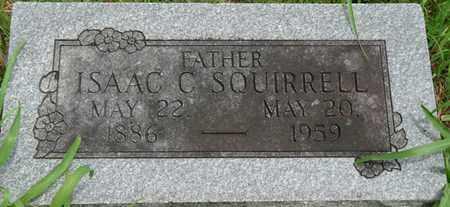 SQUIRRELL, ISAAC C - Tulsa County, Oklahoma | ISAAC C SQUIRRELL - Oklahoma Gravestone Photos