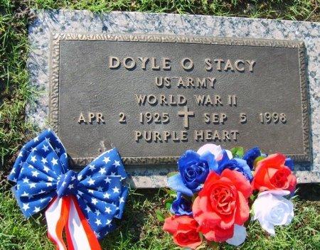 STACY (VETERAN WWII), DOYLE OTTO (NEW) - Tulsa County, Oklahoma | DOYLE OTTO (NEW) STACY (VETERAN WWII) - Oklahoma Gravestone Photos