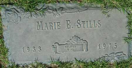 STILLS, MARIE E - Tulsa County, Oklahoma   MARIE E STILLS - Oklahoma Gravestone Photos