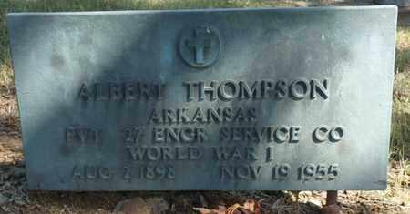 THOMPSON (VETERAN WWI), ALBERT - Tulsa County, Oklahoma | ALBERT THOMPSON (VETERAN WWI) - Oklahoma Gravestone Photos
