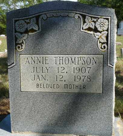 THOMPSON, ANNIE - Tulsa County, Oklahoma   ANNIE THOMPSON - Oklahoma Gravestone Photos