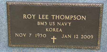 THOMPSON (VETERAN KOR), ROY LEE - Tulsa County, Oklahoma | ROY LEE THOMPSON (VETERAN KOR) - Oklahoma Gravestone Photos