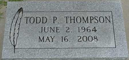THOMPSON, TODD P - Tulsa County, Oklahoma | TODD P THOMPSON - Oklahoma Gravestone Photos