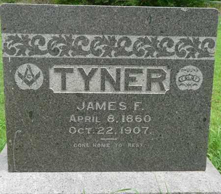TYNER, JAMES F - Tulsa County, Oklahoma | JAMES F TYNER - Oklahoma Gravestone Photos