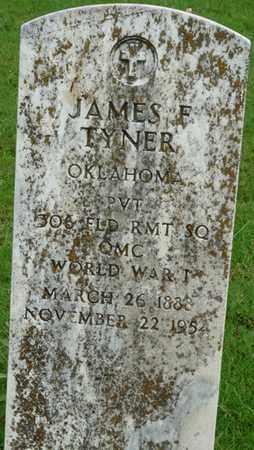 TYNER (VETERAN WWI), JAMES F - Tulsa County, Oklahoma   JAMES F TYNER (VETERAN WWI) - Oklahoma Gravestone Photos