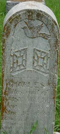WALKER, CHARLES - Tulsa County, Oklahoma | CHARLES WALKER - Oklahoma Gravestone Photos