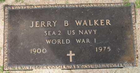WALKER, JERRY B - Tulsa County, Oklahoma | JERRY B WALKER - Oklahoma Gravestone Photos