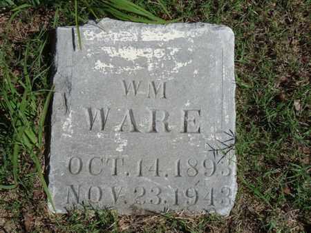 WARE, WILLIAM - Tulsa County, Oklahoma | WILLIAM WARE - Oklahoma Gravestone Photos