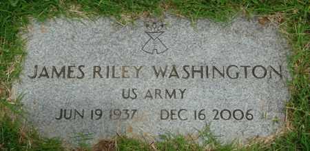 WASHINGTON (VETERAN), JAMES RILEY - Tulsa County, Oklahoma | JAMES RILEY WASHINGTON (VETERAN) - Oklahoma Gravestone Photos